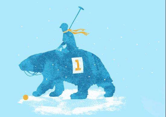 the polar games Canvas Print