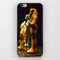 Egyptian statuettes iPhone & iPod Skin