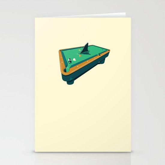 Pool shark Stationery Card