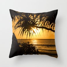 Those Summer Nights Throw Pillow