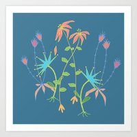 Bouquet For Mom Art Print