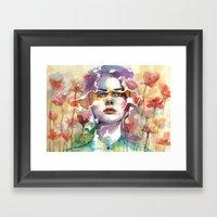 Summer's Yearnings Framed Art Print