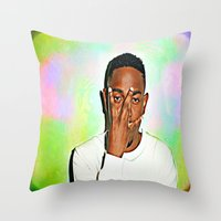 Kendrick Lamar Throw Pillow
