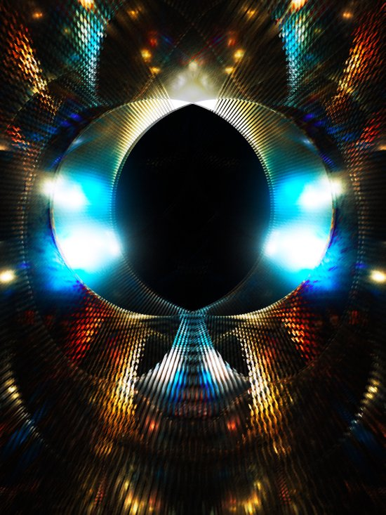 Disco Light Art Print