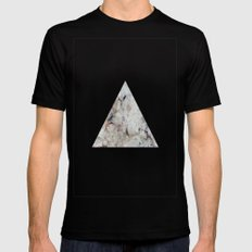 carmacoma marble Black Mens Fitted Tee SMALL