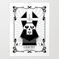 GHOST UK TOUR Art Print