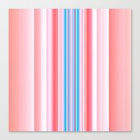 Yummy Stripes Canvas Print