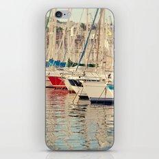 Marseille Harbor iPhone & iPod Skin
