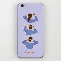 updo iPhone & iPod Skin