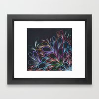 Obsesion Framed Art Print