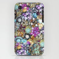 Vintage Bling iPhone (3g, 3gs) Slim Case