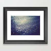All That Glitters Framed Art Print