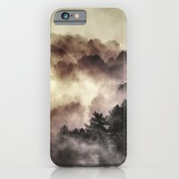 "iPhone Cases featuring ""Surprise misty forest"" by Guido Montañés"