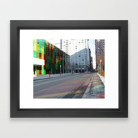 Palais de Congrès, Montreal, Canada.  Framed Art Print