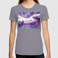 Cosmic Torso Womens Fitted Tee Slate SMALL