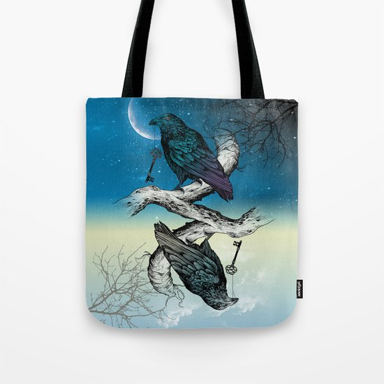 Raven's Key Night+Day Tote Bag