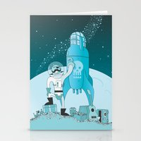 Space Pirate! Stationery Cards