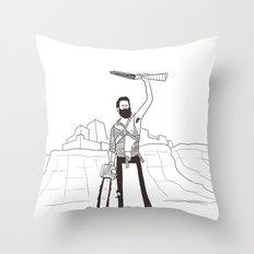 Hail to the Beard, baby Throw Pillow
