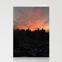 nyc, you're gorgeous Stationery Cards