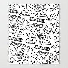 Cute Stuff Canvas Print