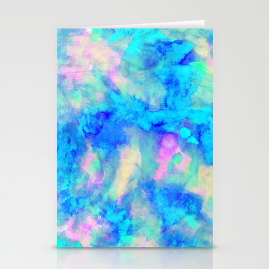 Electrify Ice Blue Stationery Card