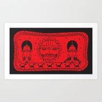 Surya- Sun Art Print