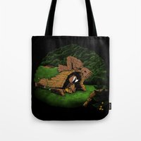 The Tree and the Raccoon Tote Bag