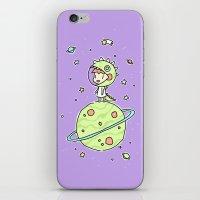 Space Dinosaur iPhone & iPod Skin
