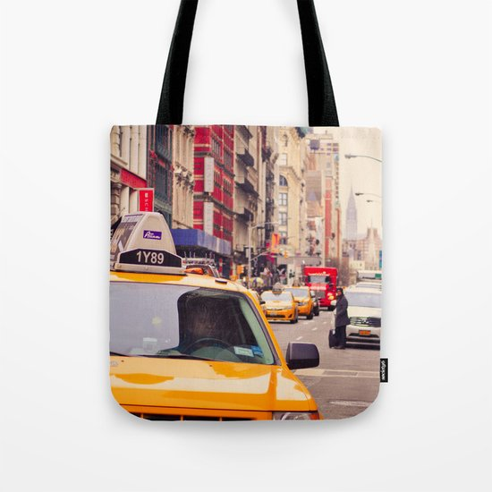 NYC Yellow Cab Tote Bag