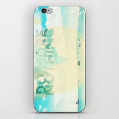 Do More Nothing iPhone & iPod Skin