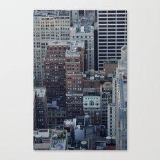 Buildings on Buildings Canvas Print