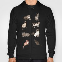 For cat lovers - watercolor of different cat breeds Hoody