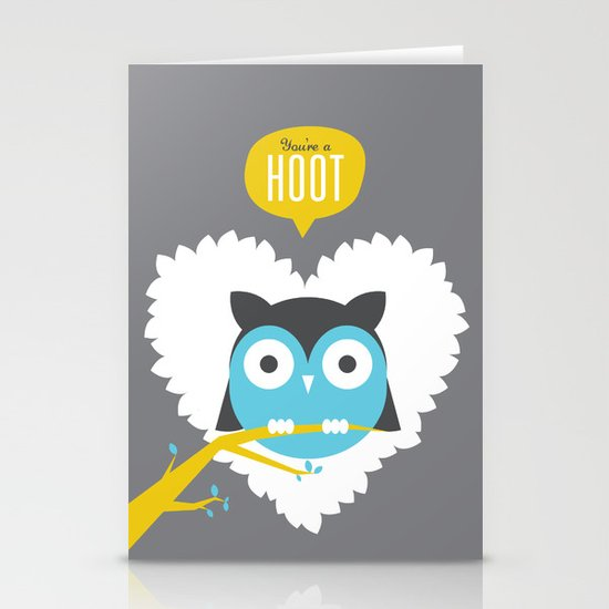 You're a Hoot Stationery Card