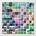 Colorful 3D Cubes 1 Canvas Print