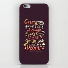 Great Minds iPhone & iPod Skin