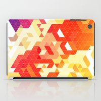 Geometric Hero 3 iPad Case