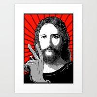Jesus Bane #00 Art Print