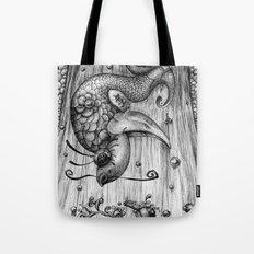 Fish Fall Tote Bag