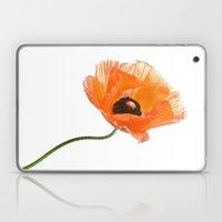 poppy flower IV Laptop & iPad Skin