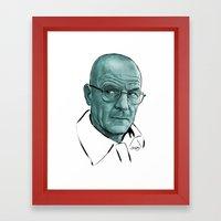 Heisenberg Blues Framed Art Print