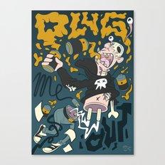 PLUG ME OUT Canvas Print