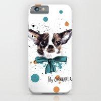 Chic Chihuahua dog iPhone 6 Slim Case