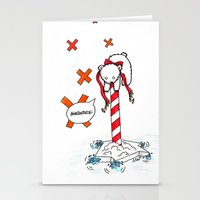 Lost Polar Bear Stationery Cards