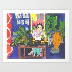 Matisse#1 Art Print