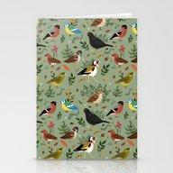 Garden Birds Stationery Cards