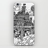 Floating city iPhone & iPod Skin