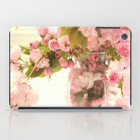 Dreamy Pink Apple Blossoms  iPad Case