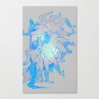 upscale Canvas Print