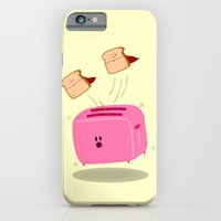 iPhone & iPod Case featuring Toast! by Hadar Geva