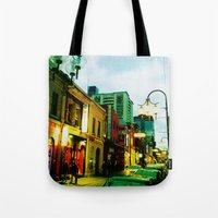 Chinatown Colour Tote Bag